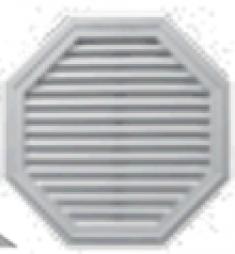 восьмиугольная вент. решётка 457мм, код 00 40 0018***, цвет любой