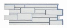 Фасадная панель GRAND LINE Камелот (Пломбирный), 1,10м