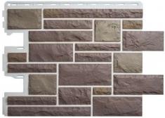 Фасадная панель Камень Пражский (цвет 03)