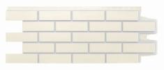 Фасадная панель GRAND LINE Клинкерный кирпич (Пломбирный), 1,10м