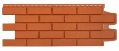 Фасадная панель GRAND LINE Клинкерный кирпич (Терракотовый), 1,10м