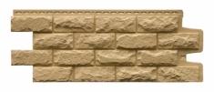 Фасадная панель GRAND LINE Колотый камень (Песочный), 1,13м