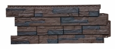 Фасадная панель GRAND LINE Сланец (Орех), 1,10м