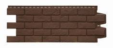Фасадная панель GRAND LINE Состаренный кирпич (Земля), 1,10м